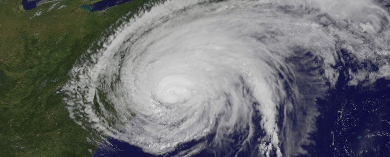 NASA Satellite Image of Hurricane Irene