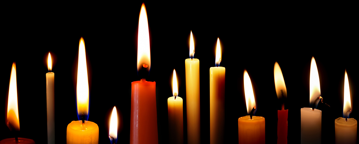 Lighting A Candle In December