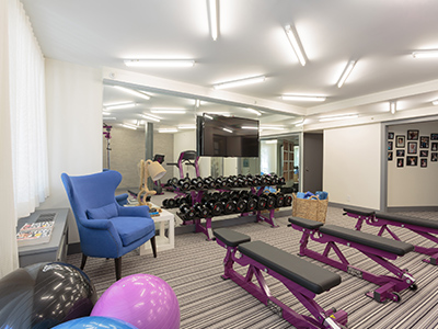 The Katie McBride Fitness Center at the Ronald McDonald House of Long Island