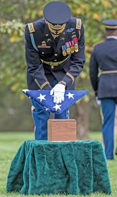 Funeral Honors At Arlington