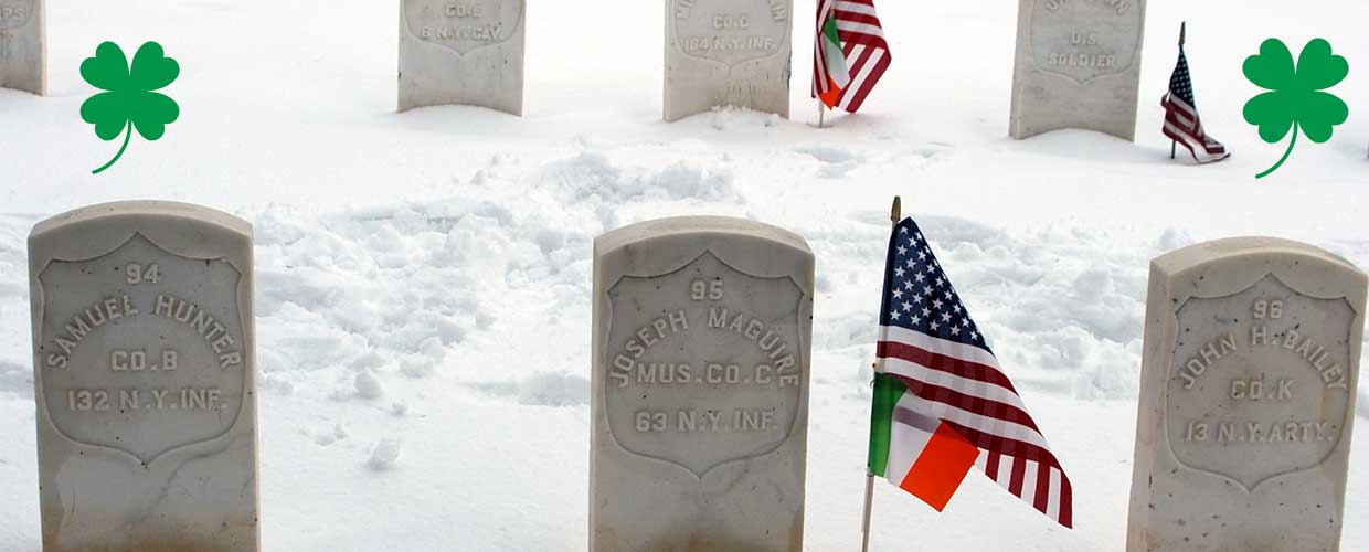 Grave Markers of Irish Americans