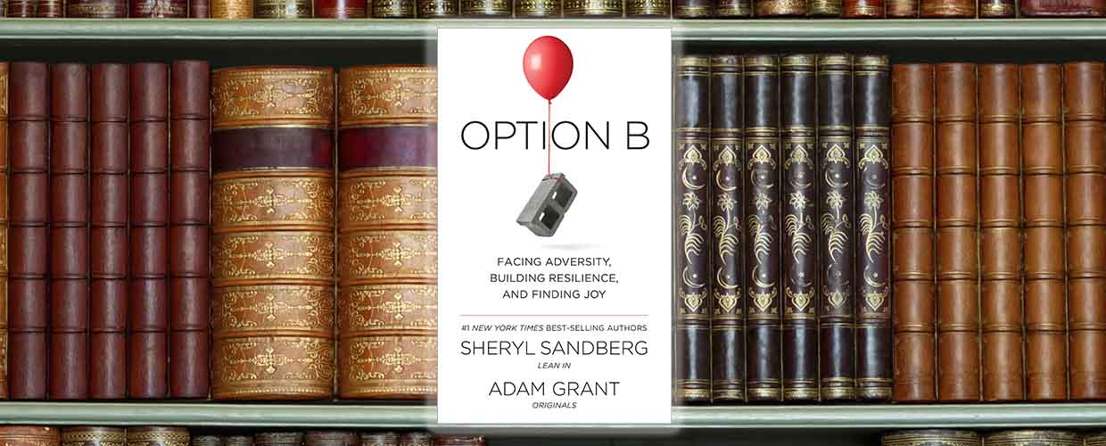 "Cover of ""Option B,"" © 2017 Knopf"