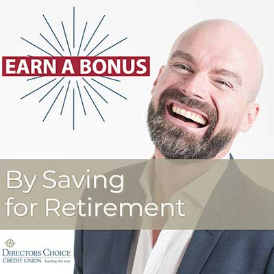 DCCU RETIREMENT BONUS