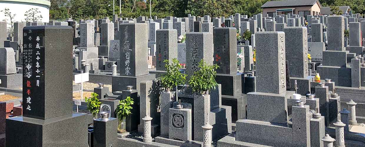Image of Cemetery in Japan