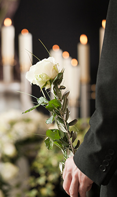Black is still common but no longer required dress at funerals